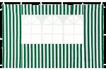 Стенка с окном для садового тента Green Glade зеленая 4110