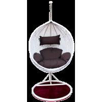 Подвесные плетеные качели KVIMOL KM 0031 большая корзина