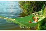Гамак TULIP двухместный (Бразилия) Зеленый