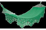 Гамак тканный с бахромой Glory Green