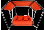 Подвесные качели гамак ДАЙМОНД (цвет оранжевый)