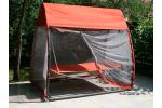 Шезлонг лежак подвесной SHADOW (цвет оранжевый)