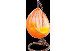 Плетеные качели KVIMOL KM 0001 ORANGE средняя корзина