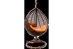 Плетеные качели KVIMOL KM 0002 DARK малая корзина
