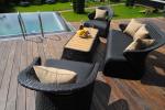 Комплект садовой мебели из ротанга CHAILD-202010 лаунж сет